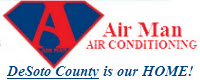 Website for Air Man Air Conditioning