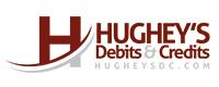 Website for Hughey's Debits & Credits, LLC