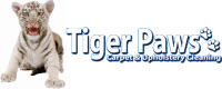 Website for Tiger Paws Carpet & Upholstery Cleaning