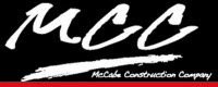 Website for McCabe Construction Company, Inc.
