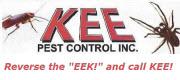 Website for Kee Pest Control, Inc.