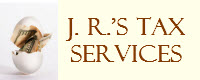 Website for J.R.'s Tax Service