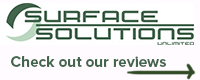 Website for Surface Solutions Unlimited