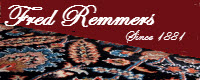 Website for Fred Remmers Rug Cleaners