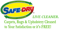 Website for Safe-Dry Carpet Cleaning of Germantown