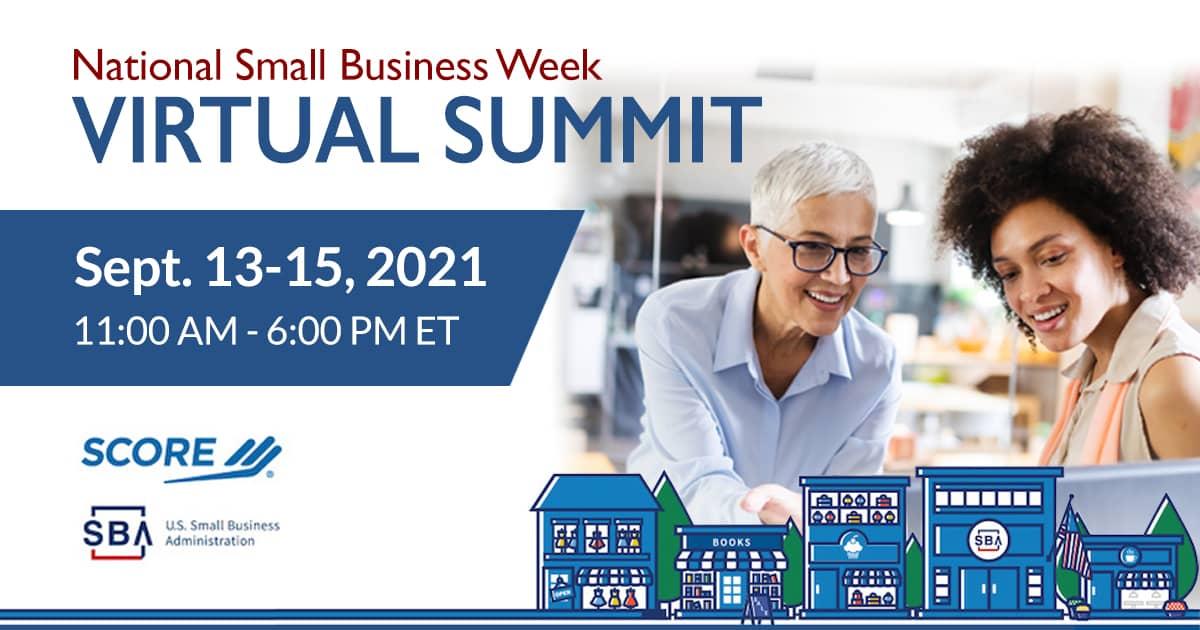 全国小企业周虚拟峰会