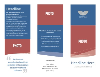 business brouchure template creative brochure template