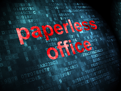 Paperless Office Image