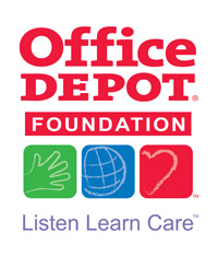Office Depot Foundation logo