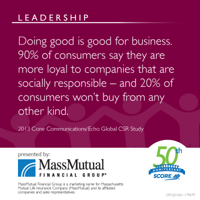 MassMutual Leadership Meme about doing good