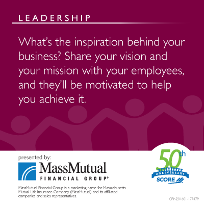 MassMutual Leadership Meme about Insiration Behind Your Business