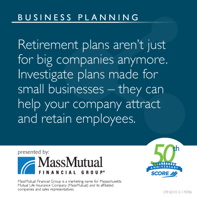 Retirement plans aren't just for big companies anymore image