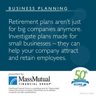 Retirement Plans aren't just for big companies Meme
