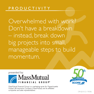 MassMutual Productivity Meme