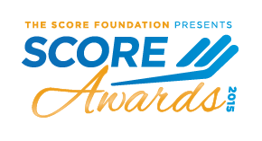 2015 SCORE Awards logo