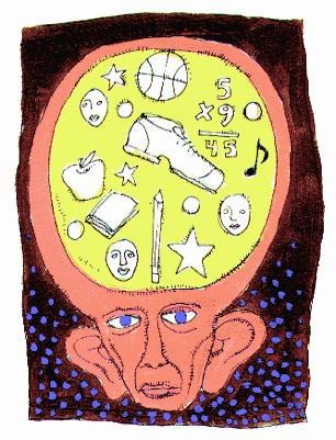 Brain Memory Graphic
