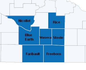 South Central SCORE Counties