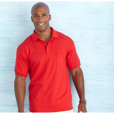 DryBlend Adult Jersey Sportshirt with Pocket