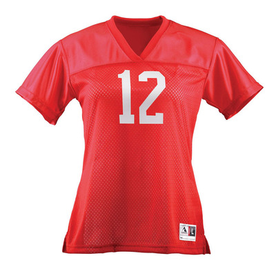 Ladies Junior Fit Replica Football Tee
