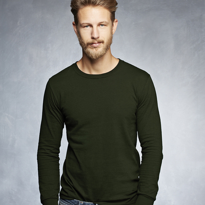 Adult Midweight Long Sleeve Tee