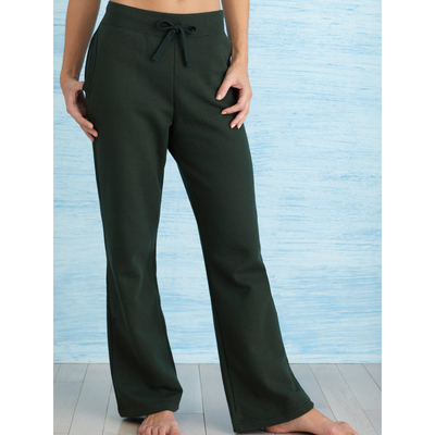 Heavy Blend Missy Fit Open Bottom Sweatpants