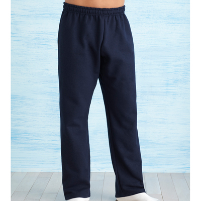 DryBlend Adult Open Bottom Pocketed Sweatpants