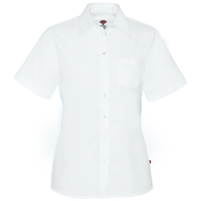 Women's Short Sleeve Stretch Poplin Shirt