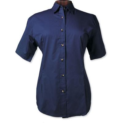 Ladies Short Sleeve  Twill Shirt
