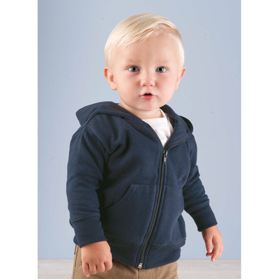 Infant Fleece Hooded Zip Front Sweatshirt