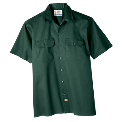 Short Sleeve Twill Work Shirt