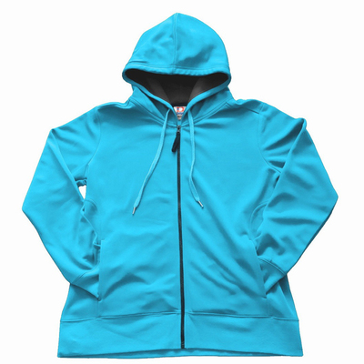 Women's Dodger-Dri Poly Fleece Full Zip Hood