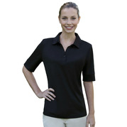 Izod 13Z0117 Ladies' Solid Jersey Polo
