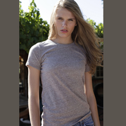 US Blanks US222 Women's Tri-Blend Tee