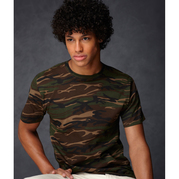 Anvil 939 Adult Heavyweight Camouflage Tee