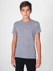 American Apparel TR201 Tri-Blend Youth Tee