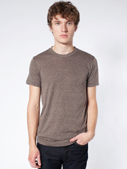 American Apparel TR401 Unisex Tri-Blend Short Sleeve Track Tee