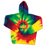 Dyenomite 854MS Tie-Dyed Hoodie