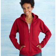Gildan 18600FL Heavy Blend Missy Fit Full Zip Hooded  Sweatshirt