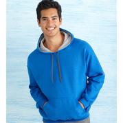 Gildan 185C00 Heavy Blend Adult Contrast Hooded Sweatshirt