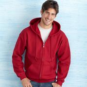 Gildan 18600 Heavy Blend Adult Full Zip Hooded Sweatshirt