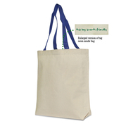 Liberty Bags 9868 Recycled Cotton Canvas