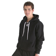 31999 Adult Heavyweight Lace Up Pullover Hood