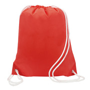 Liberty Bags 8887 White Drawstring Backpack