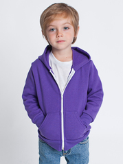 American Apparel F197 Kids Flex Fleece Zip Hoodie