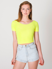 American Apparel RSA8380 Crop Top Tee