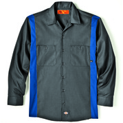 Dickies Occupational LL524 Long Sleeve Industrial Color Block Shirt
