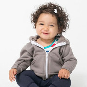 American Apparel F097 Infant Flex Fleece Zip Hoodie