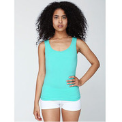 American Apparel 8308 Cotton Spandex Tank