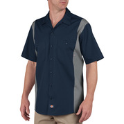 Dickies Occupational LS524 Color Block Short Sleeve Work Shirt