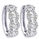 1.54 Carat Diamond Earrings